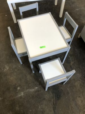 Kid table only 2 chairs for Sale in Dallas, TX