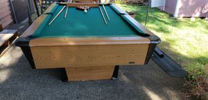 Pool table (Billiard) 102 inches x 58 inches for Sale in Federal Way, WA
