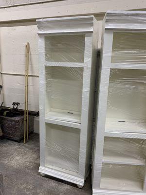 White bookshelves for Sale in Pompano Beach, FL