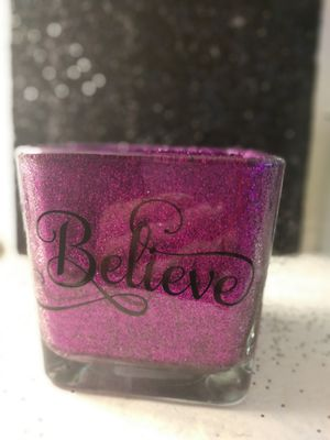 Believe makeup brush holder for Sale in Lake Wales, FL