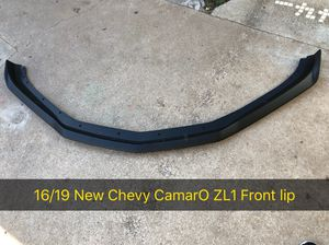 16/19 New Chevy CamarO ZL1 Front Lip for Sale in San Diego, CA