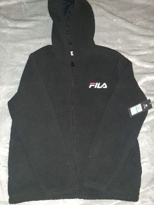 Wool FILA Fleece Hoodie (SIZE LARGE) for Sale in Brooklyn, NY