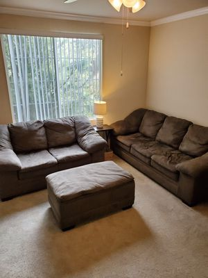 Sofa, Loveseat, & Ottoman Set for Sale in Rancho Cucamonga, CA