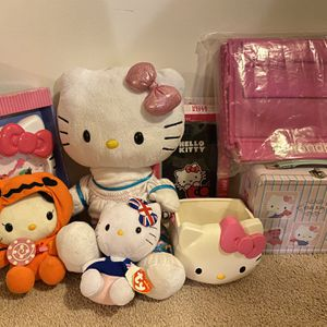 Entire Hello Kitty Lot - Some New, Some Used for Sale in Springfield, VA