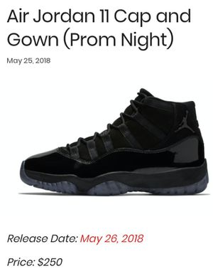 Air Jordan 11s Cap and Gowns for Sale in Swansea, IL