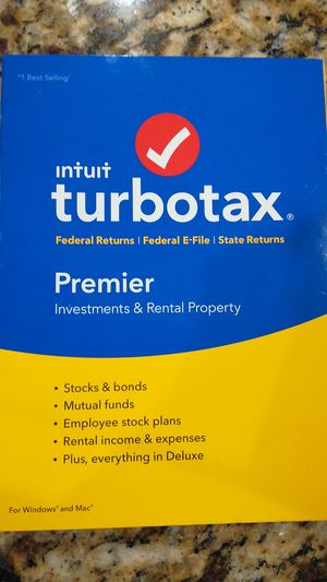 TurboTax 2016 premier for Sale in Carlsbad, CA