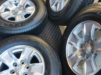 """17"""" Chevy Wheels Tires Like NEW...... for Sale in Gardena,  CA"""