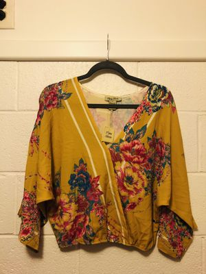 Yellow Floral Flying Tomato Blouse for Sale in Los Angeles, CA