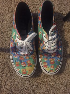 Mario Vans $140 Just Cause Of Condition for Sale in Portland, OR