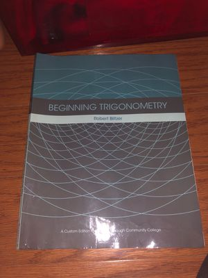 Trig textbook for Sale in Queens, NY