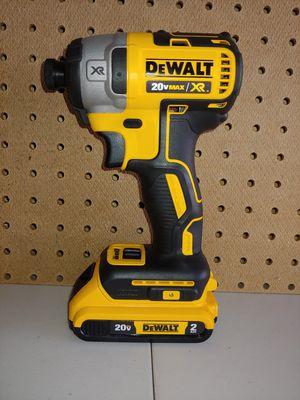 Dewalt XR 3-SPEED Impact w battery for Sale in Fairview, TX