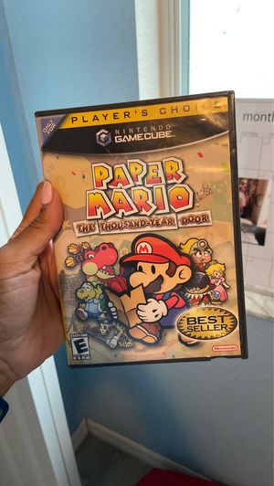Paper Mario for Game Cube or Wii for Sale in Cypress Gardens, FL