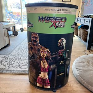 Cooler, barrel cooler, wired energy drink excellent condition for Sale in Vancouver, WA