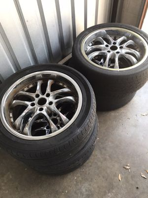 4 Rims and Tires for Sale in Orlando, FL