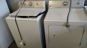 """Maytag Centennial """"washer/dryer set"""" (white & gray ) for Sale in Cleveland, OH"""