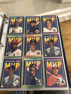 Baseball Collectors Cards! Over 1,000 cards ranging from the late 80's to late 90's for Sale in Kirkland, WA