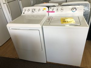 GE white washer and dryer bundle for Sale in Woodbridge, VA