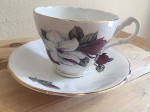 Consort fine bone china tea cup for Sale in Seattle, WA