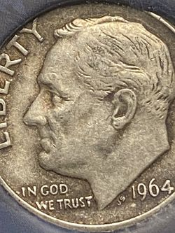 1964-P Silver Roosevelt Dime DDR ERROR for Sale in Plainfield,  IL