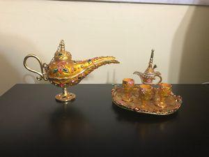 Tea set decor made in Dubai for Sale in Miami, FL