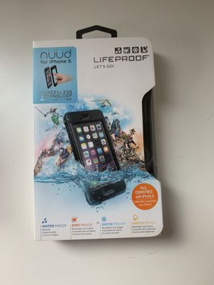 Lifeproof IPhone 6 case for Sale in Auburn, WA