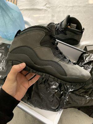 Jordan 10 shadow's 2018 9 1/2 men's for Sale in Riverbank, CA