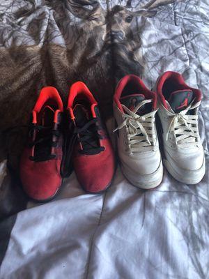 Kobe 11 elites Jordan 5 fire red sz 7 youth for Sale in Clinton Township, MI