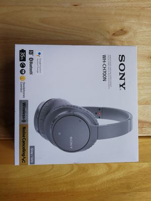 Sony WH-CH700N Bluetooth Wireless Active Noise Canceling Over-the-Ear Headphones for Sale in West Covina, CA