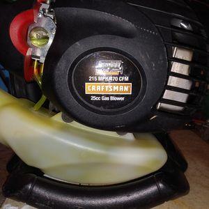 Craftsman Leaf Blower Vacuum 25cc 210 mph for Sale in Denton, TX
