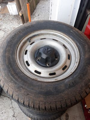 Factory dodge ram wheels/rims and tires for Sale in Independence, MO