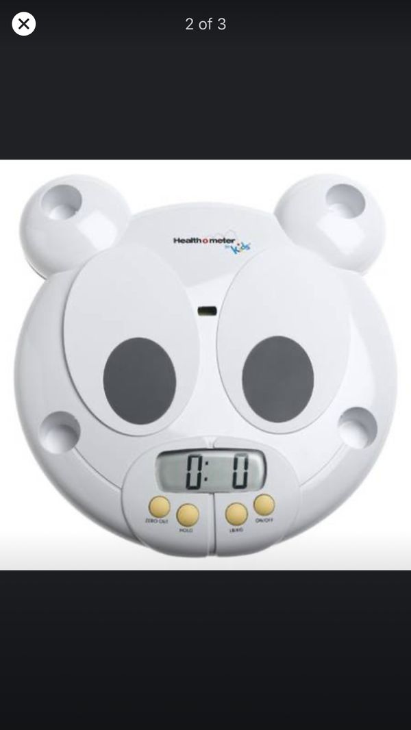 Health o meter scale- baby and toddler