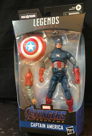 "Avengers Marvel Legends Series Endgame Captain America 6""Collectible Action Figure. for Sale in Tustin, CA"
