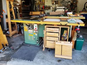 A woodworker's dream Table Saw +Extras for Sale in MONTGOMRY VLG, MD