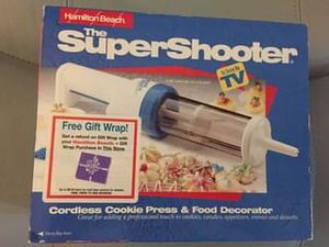 Super Shooter Cordless Cookie Press and Food Decorator for Sale in Tampa, FL