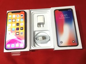 IPHONE X 256GB FACTORY UNLOCKED EXCELLENT CONDITION!!! for Sale in Des Plaines, IL