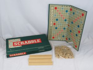 VTG 1955 Scrabble Board Game Made In England Spears Games for Sale in Belmar, NJ