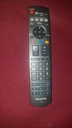 Panasonic tv remote for Sale in Fullerton, CA