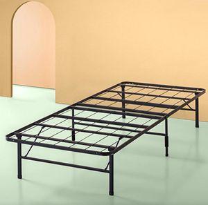 Platform Bed Frame, Black, Twin for Sale in Cleveland, OH