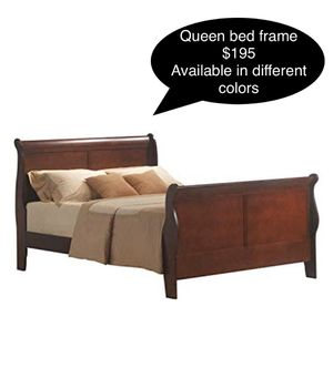New solid Queen bed frame for Sale in Fresno, CA