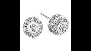 1/10 CT. T.W. Diamond Stud Earrings for Sale in Dallas, TX