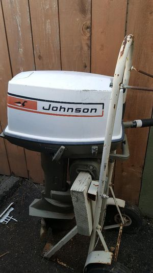 Johnson outboard boat motor -20 horsepower for Sale in San Diego, CA
