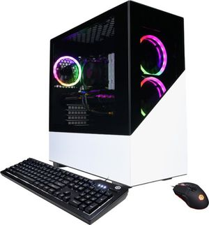 CyberPowerPC - Gamer Master Gaming Desktop - AMD Ryzen 5 3600 - 16GB Memory - AMD Radeon RX 5600 XT - 1TB HDD + 500GB SSD NVMe for Sale in Oakland, CA