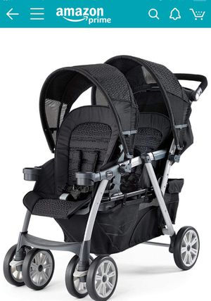 Chicco Cortina Together Double Stroller, Minerale for Sale in Alexandria, VA