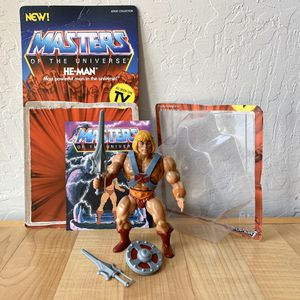Vintage Heman and the Masters of the Universe Super 7 Terror Wolf Complete Action Figure MOTU Toy With 2 Sword Weapons, Shield & Chest Armor, Unpunch for Sale in Elizabethtown, PA