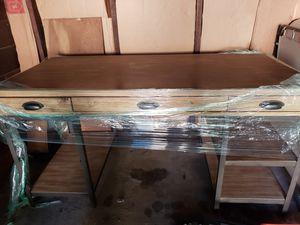 Wood desk for Sale in Palo Alto, CA