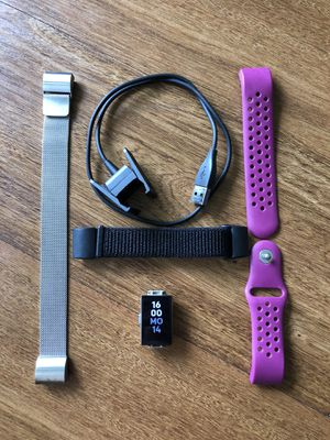 Fitbit Charge 2 with extra bands for Sale in Reston, VA