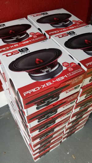 Ds18 Pro Audio Speakers Loud and clear 600 watts/Bocinas Para la voz Se esuchan fuerte y claro $30 Cada una /$30 Each for Sale in Houston, TX