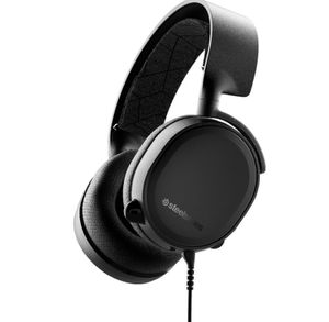 SteelSeries - Arctis 3 Wired Stereo Gaming Headset for PC, PlayStation 4, Xbox One, Nintendo Switch, VR, Android and iOS - Black for Sale in Fontana, CA