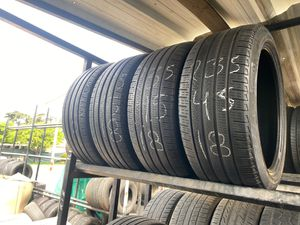 Set of 235 45 18 Pirelli used tires for Sale in Fontana, CA