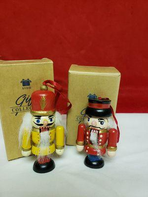 Avon 1995 wooden nutcracker ornaments for Sale in Glen Ellyn, IL